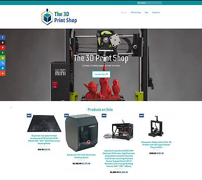 Fully automated 3D PRINTER Business - Upto £2,700 per sale FREE DOMAIN / HOSTING