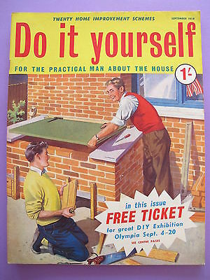 Vintage do it yourself magazine september 1958 450 picclick uk vintage magazine do it yourself september 1958 solutioingenieria Image collections