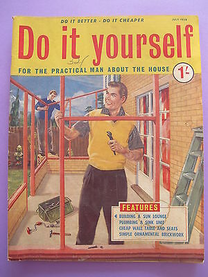 Vintage do it yourself magazine september 1958 450 picclick uk vintage magazine do it yourself july 1958 solutioingenieria Image collections