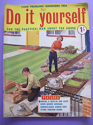 Vintage do it yourself magazine september 1958 450 picclick uk vintage magazine do it yourself august 1958 solutioingenieria Image collections