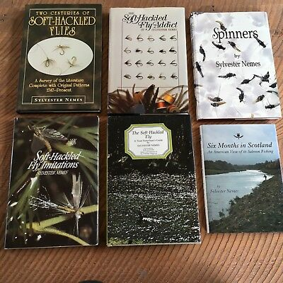 Sylvester Nemes Soft-Hackled Fly book lot of six fishing trout tying