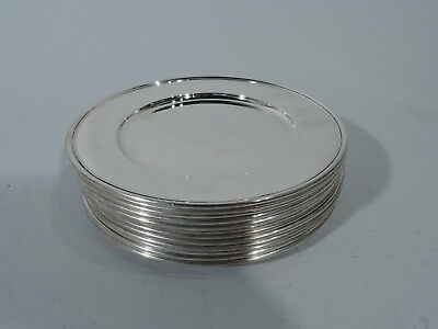 Tiffany Plates - 20064 - Bread & Butter Butters - American Sterling Silver