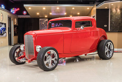 Ford 3-Window Coupe Street Rod Ford 3-Window Coupe! GM 350ci V8, TH350 Automatic, PB, 4-Wheel Disc, A/C & More!