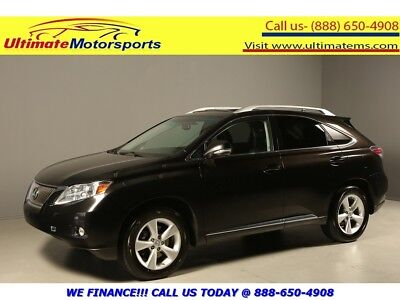 "Rx Rx350 Awd Sunroof Leather Heated-Cool-Seats Camera 2011 Lexus Rx 350 Sunroof Leather Rcam Keyless Bluetooth Wood 18""alloys Black"