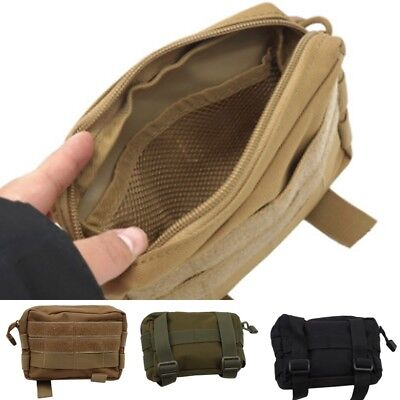 1000D Nylon Molle Tactical Military EDC Utility Tool Bag First Aid Pouch Case