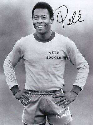 Pele (1940)   original sign. photo  (20x27cm) AUTOGRAPH