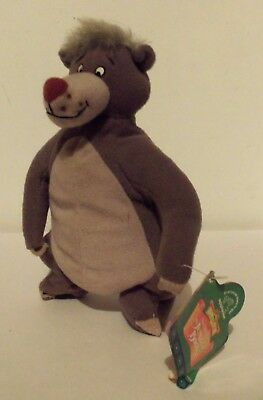 Walt Disney The Jungle Book Baloo Bear Plush Soft Toy Wild Animal Figure W. Tag