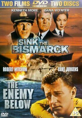 Sink the Bismarck / The Enemy Below (2-Disc Double Pack) (1960/1957) (DVD)