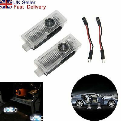 2X LED Courtesy Laser BMW Welcome Projector Logo Shadow Car Door Lights Lamps