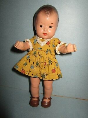Early Composition R & B Toddles Doll
