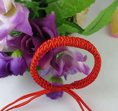 2X Feng Shui Red Strings Bracelet For Good Fortune Luck Succrss And Protection ,