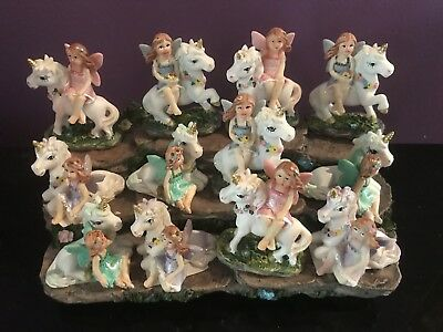 12 Fairy Friends unicorns on display unicorn craft decor cake decorations party