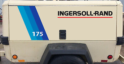 Ingersoll Rand towable Air Compressor 175 cfm decal kit