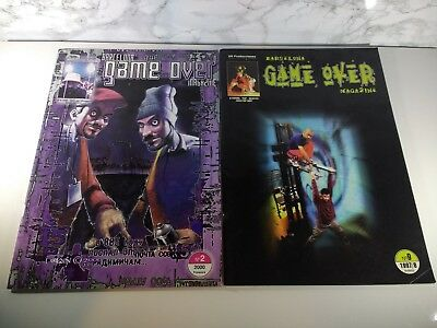 Game Over Graffiti Magazines Issues 2 and 9 - Mode 2 - Rain - How / Nosm