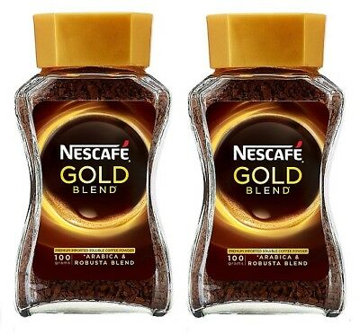 Nescafe Gold Blend Instant Coffee Powder, 100g Eden Jar (pack of 2)