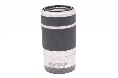 Silver SONY SEL55210 E 55-210 mm f/4.5-6.3 OSS Zoom Lens For NEX ILCE E-mount