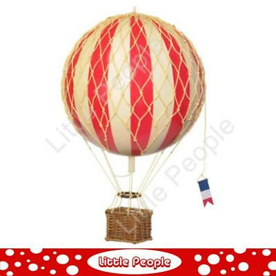 Hot Air Ballon Red 8.5cm perfect for any nursery