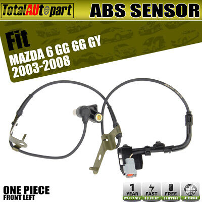 Brand New ABS Wheel Speed Sensor fit Mazda 6 GG GY 03-08 Front Left Driver Side