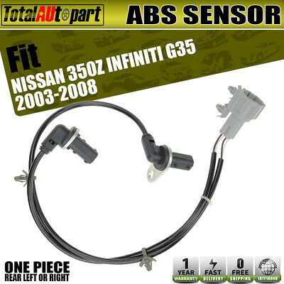 A-Premium ABS Wheel Speed Sensor for Mazda 6 GG GY 2003-2008 Rear Right Passenger Side