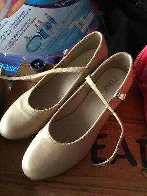 ladies size 10.5 dance tap bloch shoes - like new