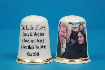 The Look der Liebe Harry & Meghan lockeren Happy China Fingerhut B / 105