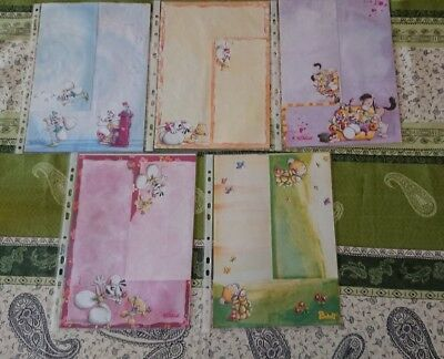 LOT N° 2 - 10 Feuilles A4 + enveloppes assorties DIDDL