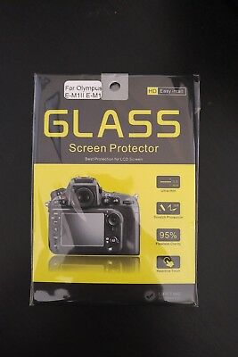 Tempered Glass LCD Screen Protector for Olympus OM-D E-M1 II/EM1 Mark II