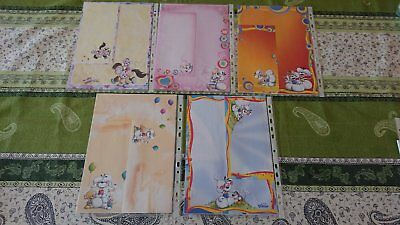 LOT N° 3.  10 Feuilles A4 + enveloppes assorties DIDDL