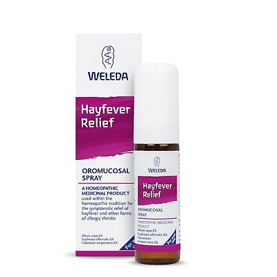 Weleda Hayfever Relief Oral Spray 20ml - Homeopathic Medicinal Product