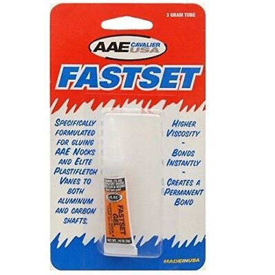 Arrow Fletching Glue AAE FastSet 3g tube - FIRST CLASS post
