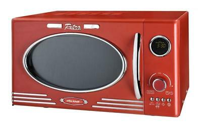 Efbe Schott Mw2500Dg-R - Four Micro-Ondes Grill Rouge -