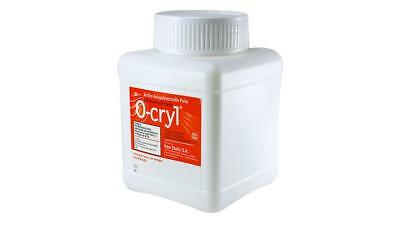 O-Cryl Self Curing Acrylic Shade Yellow with Glitter 500g New Stetic