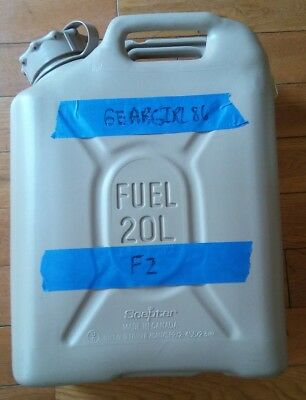 NEW style SCEPTER US MILITARY JERRY / FUEL CAN 5 GAL/20L - TAN F2