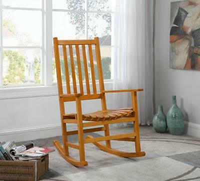 Outstanding Coaster Southern Country Plantation Porch Rocker Rocking Gmtry Best Dining Table And Chair Ideas Images Gmtryco