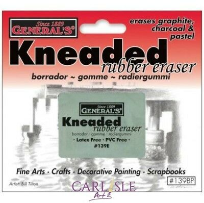 General's Kneaded Rubber Eraser By One Or Bulk Buy 6 Pack