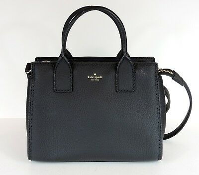 655358782db2 New kate spade new york Dunne Lane Lake Small Crossbody black leather bag