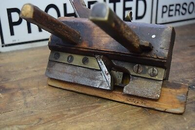 Antique Timber Moulding Plane Old Cabinet Making Tools