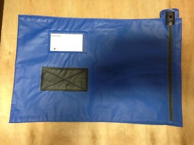 Val-U-Mail A3 Large Mailing Security Post Pouch Bag Blue 320mm x 470mm