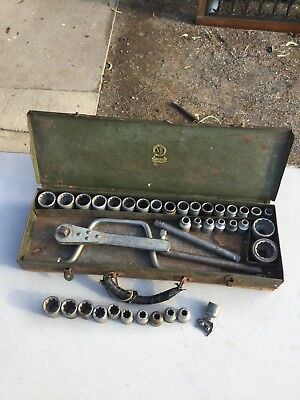 Vintage Socket Set very rare.