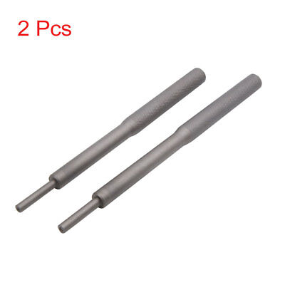2pcs Universal Metal Valve Guide Remover Grinding Stick Tool Dark Gray for Car