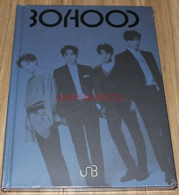 UNB BOYHOOD 1st Mini Album K-POP CD + 2 PHOTO CARD + FOLDED POSTER NEW