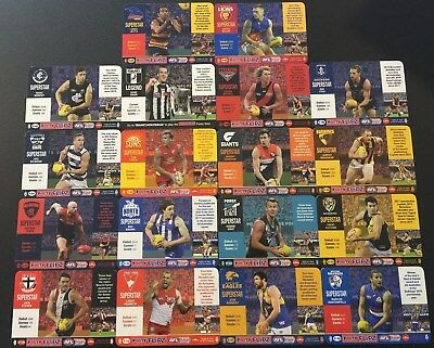 2018 AFL Teamcoach FOOTY FLIPZ - Trading Card for Sale - you choose