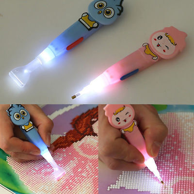 DIY 5D Diamond Embroidery Rhinestone Painting Cross Stitch Craft Art Drill Pen K