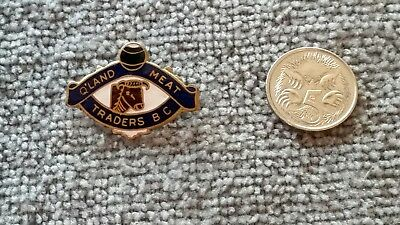 Queensland Meat Traders Lawn Bowling Club Pin / Badge