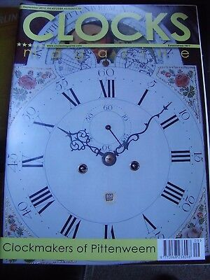 Clocks Mag September 2010 Pittenweem Makers Indian Dials By French London