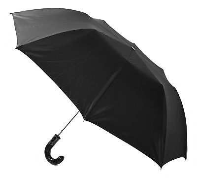 NEW Men's Traditional Folding Umbrella in Black