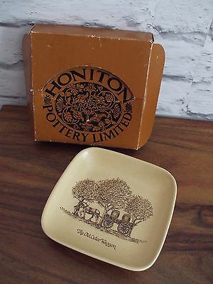 Honiton Pottery Limited   The Cider Wagon    Boxed  Excellent Condition
