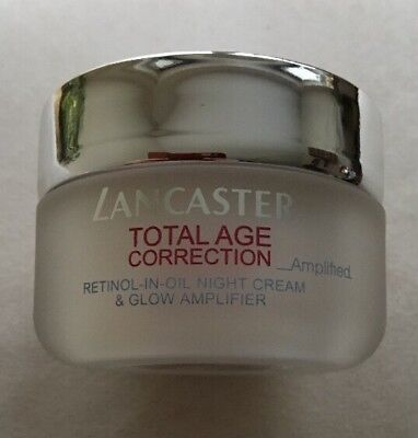 Lancaster Total Age Correction Amplified Retinol-in-Oil Night Cream & Glow 50ml