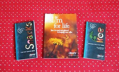 B New 2018 Slimming World Free Branded Foods Low Syn Snack Books