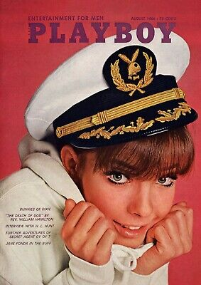 Vintage Playboy Magazine Cover Reproduction